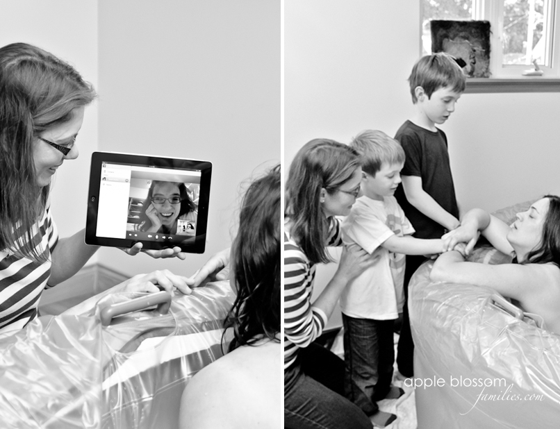 Apple Blossom Families - Vancouver Birth Photographer Vancouver Doula Morag Hastings